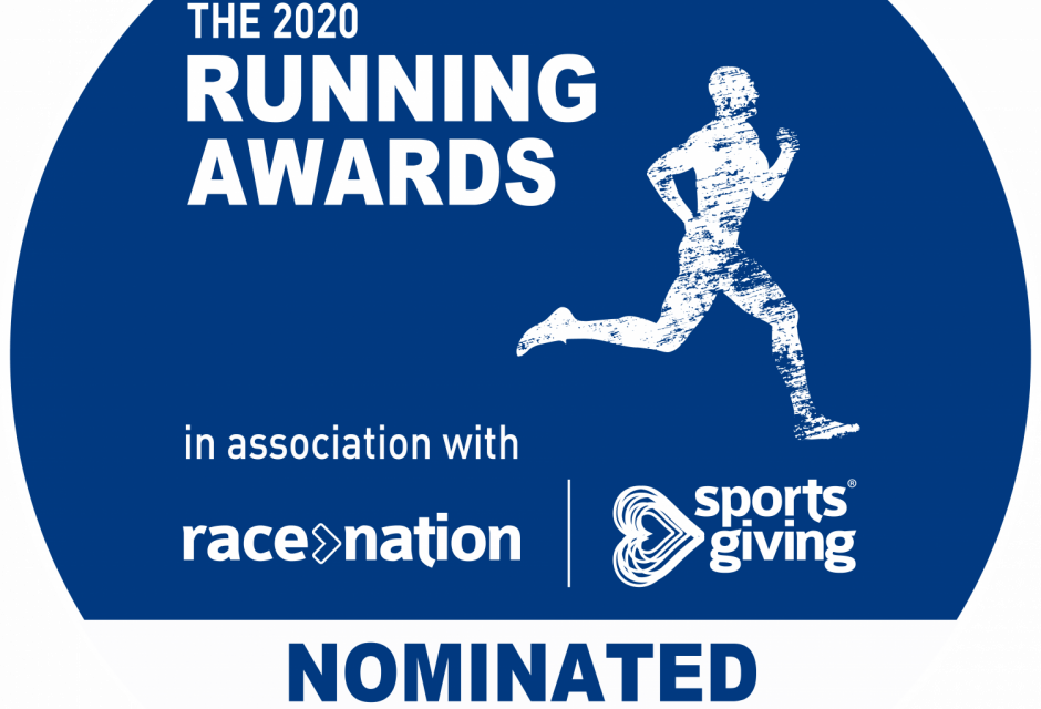 Vote for our blog (please!) in The uk running awards 2020