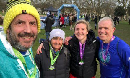 RunThrough Victoria Park Half Marathon