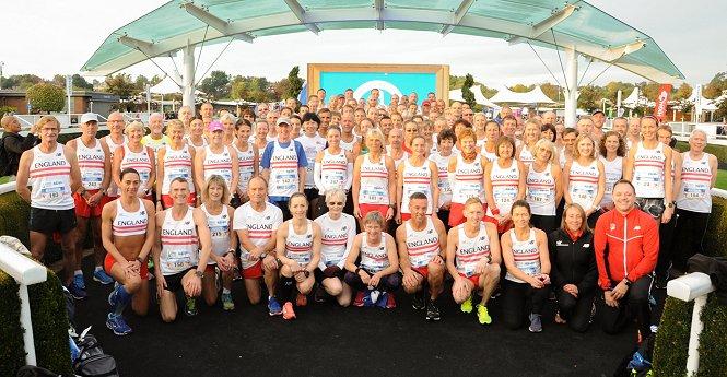 England Masters Marathon Team 2018